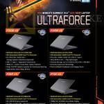 Gigabyte Notebooks P35W V5, P34W V5, P35X V5, P15F V5