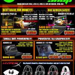 Notebooks, Headphones, Gigabyte P15F V3, Gigabyte P27G V2, Aorus X3, X7, X7 Pro, Hyper X