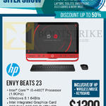 Newstead AIO Desktop PC Envy Beats 23