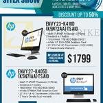 Newstead Envy AIO Desktop PC 23-K410D K5N72AA TS AIO, 27-K405D K5N71AA TS
