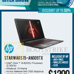 Newstead Notebook Starwars 15-AN009TX
