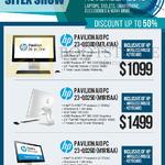 Newstead Pavilion AIO Desktop PCs 23-Q038D M7L41AA, 23-00250 M1R15AA, 23-00260 M1R16AA
