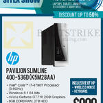 Newstead Pavilion Slimline Desktop PC 400-536DK5M28AA