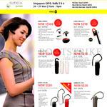 Bluetooth Headsets Wireless Audio Jabra Stone3, Stealth, Boost, Mini, Classic, BT 2046
