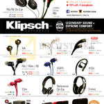 Klipsch Earphones, Headphones, Bluetooth Speakers, R6i, R6 On-Ear, X4i, X7i, X11i, R6i, R6m, R6, AW4i, X11i, AS5i, S3m, Reference-ON-Ear, Status, Promedia 2.1, Gig, KMC1, KMC3