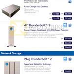 Desktop Storage Porsche Design Desktop Drive, D2 Thunderbolt 2, 2big Thunderbolt 2