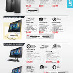 Desktop PCs, AIO Desktop PCs, Lenovo H30-50 90B900A9SG, 90B900AASG, 90B900ABSG, Lenovo C260, C40-30, C50-30, B50-30 FOAUOOHPST, FOAUOOHUST, A540 F0AN004USG