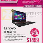 Newstead Notebook Ideapad Y50