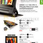 Tablets Yoga Tab 3 Pro 10, Tab 3 8