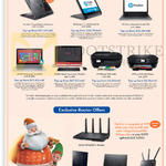 HP Notebooks, Printers, AIO Desktop PC, ASUS Routers