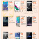 Mobile Phones Samsung Galaxy Note 5 S6 Edge A8, LG G4, Sony Xperia Z5, Huawei Mate S, Sony Xperia Z5, Oppo R7 R7s Plus