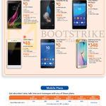Mobile Smartphone LG Class, Huawei P8 Lite, Sony Xperia M4 Aqua C5 Ultra, Oppo Neo 7, Samsung Galaxy S6 Edge