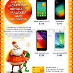 M1 Prepaid Mobile Deals Alcatel Onetouch Pop S3, Xiaomi Mi 4i, Asus Zenfone 2 Laser, Samsung Galaxy A3