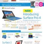 Tablets Surface Pro 4, Surface 3