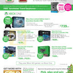Xbox One Gaming Consoles, Halo 5 Bundle, Rise Of The Tomb Raider, Forza Motorspot 6, Fifa 16, Gears Of War Ultimate Edition