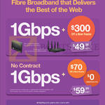 1Gbps Fibre Broadband Contract, No Contact Prices