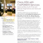 Cisco ASA Firepower Services