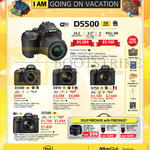 DSLR Digital Cameras, Lenses D5500, D3300, D810, D750, D7200