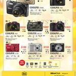 Digital Cameras Coolpix S7000, P900, P610, AW130, L840, S3700, S2900, L31