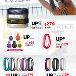 Jawbone Fitness Trackers UP24, UP2, UP3, UP Move