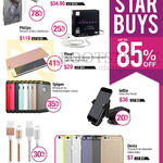 Star Buys Up To 85 Percent Off Earphones, Cases, Lightning Cable, Easy ONe Touch, TiinLab, Philips, IPearl, Spigen, Lottle, Devia, Comma