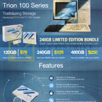 Storage Solutions Trion 100 Series SSD 120GB, 240GB, 480GB