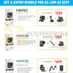 GoPro Action Cameras Bundles Hero, Hero Plus, Hero Plus LCD
