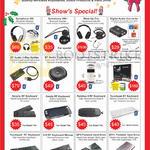 Accessories Headphones, Transceiver, Speaker, Keyboards, Hard Disk Drive, Symphone 360, 380 Plus, Superbeat 310, Smarty RF, Handy RF, Palmtop II RF, 419 RF, QP II