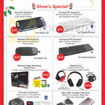 Accessories Keyboards, Audio Streaming, Headphones, Audio Transceiver, Portable Hard Drive, Handy RF, Touchpad BT, Palmtop II RF, Touchpad Plus RF, Blast-Up Pro