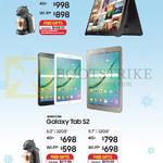 Tablets Galaxy View 18.4, Tab S2, 8.0, 9.7, 32GB