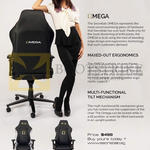 Chairs Omega Stealth, Classic Features