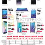 Mobile Phones Oppo Neo 7, R7s, R7 Plus, Sony Xperia Z3 Plus, M4 Aqua, Samsung Galaxy S6 Edge, S6 Edge Plus, Note 5, Mobile Plans Combo 1,2,3,4,6,12