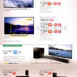 TVs KD-X8300C, X8000C, HT-CT780, HT-CT380, HT-CT-180