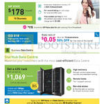 Business 178.00 SIP Voice, 1069.00 Data Centre 42U Rack