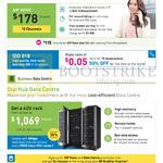 Business 178.00 SIP Voice, 1069.00 Data Centre 42U Rack