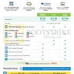 Business Microsoft Office 365 7.00 Business Essentials, 11.50 Business, 17.50 Business Premium