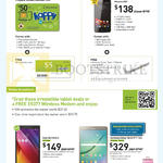 Mobile Prepaid, Broadband, Golden Number Sim, Phicomm E551, Asus Zenpad 8.0, Samsung Galaxy Tab S2 9.7