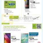 Mobile Prepaid, Broadband, Golden Number Sim, Phicomm E551, Asus Zenpad 8.0, Samsung Galaxy Tab S2 9.7