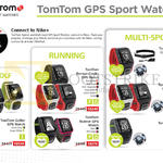 GPS Sport Watches Golfer, Runner Cardio, Multi-Sport