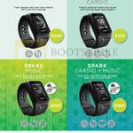 Spark GPS Fitness Watches, Spark Cardio, Spark Music, Spark Cardio Music