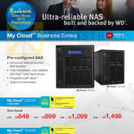 My Cloud Business Stories DL2100, DL4100, 2Bay, 4Bay NAS, 0TB, 4TB, 8TB, 12TB, 16TB, 24TB