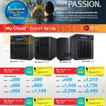 My Cloud Expert Series EX2 2Bay NAS, EX4 4 Bay NAS, EX2100 E Bay NAS, EX4100 4 Bay NAS, 0TB, 4TB, 6TB, 8TB, 10TB, 12TB, 16TB, 20TB, 24TB